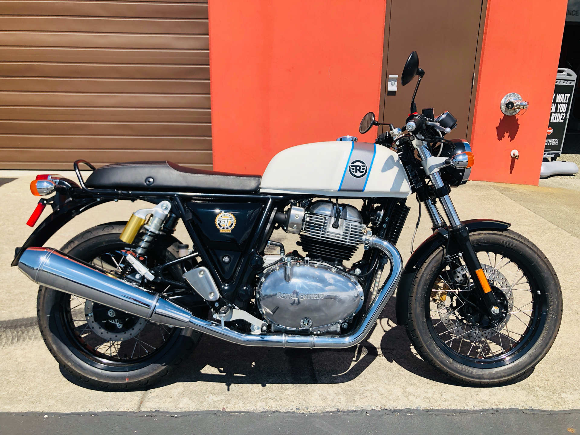 2019 Royal Enfield Continental GT 650 in Burlington, Washington - Photo 1