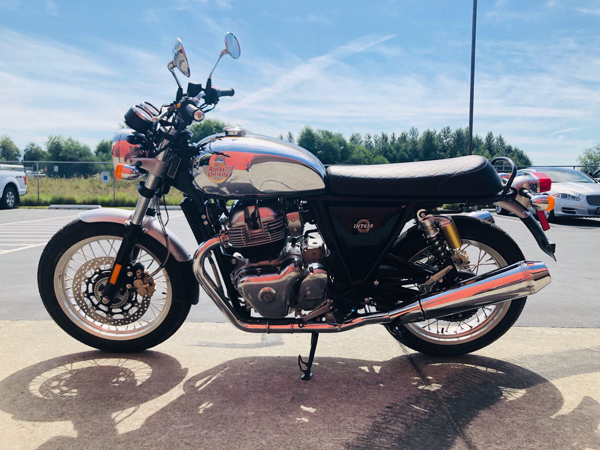 2019 Royal Enfield INT650 in Burlington, Washington - Photo 6
