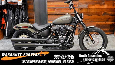 2019 Harley-Davidson Street Bob® in Burlington, Washington