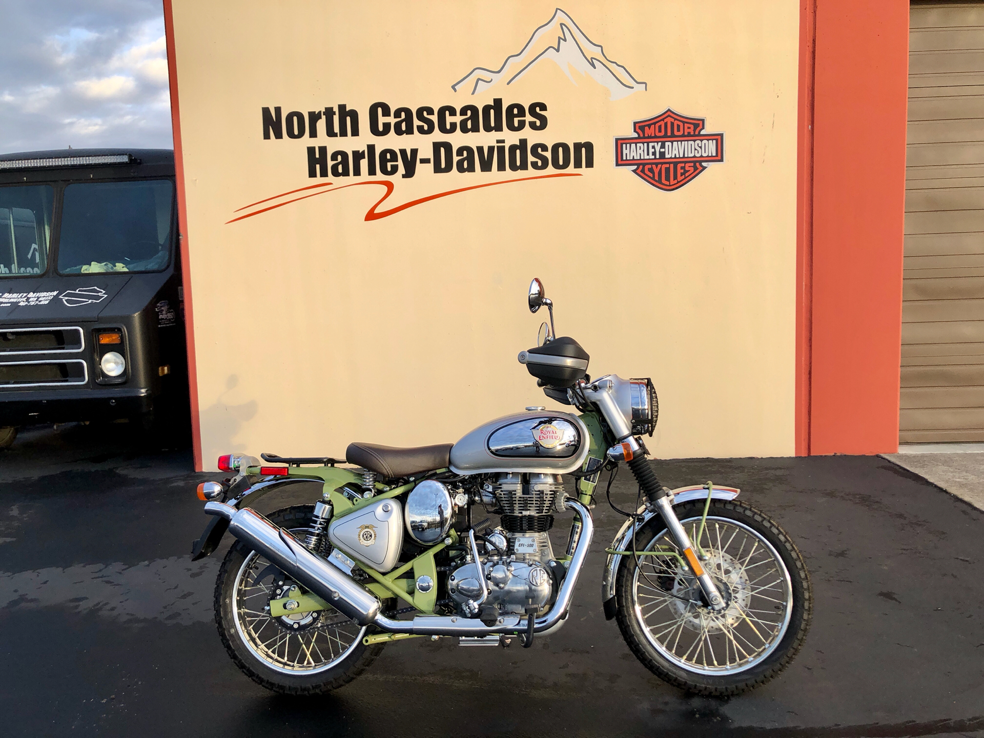 2020 Royal Enfield Bullet Trials Works Replica 500 Limited Edition in Burlington, Washington - Photo 1