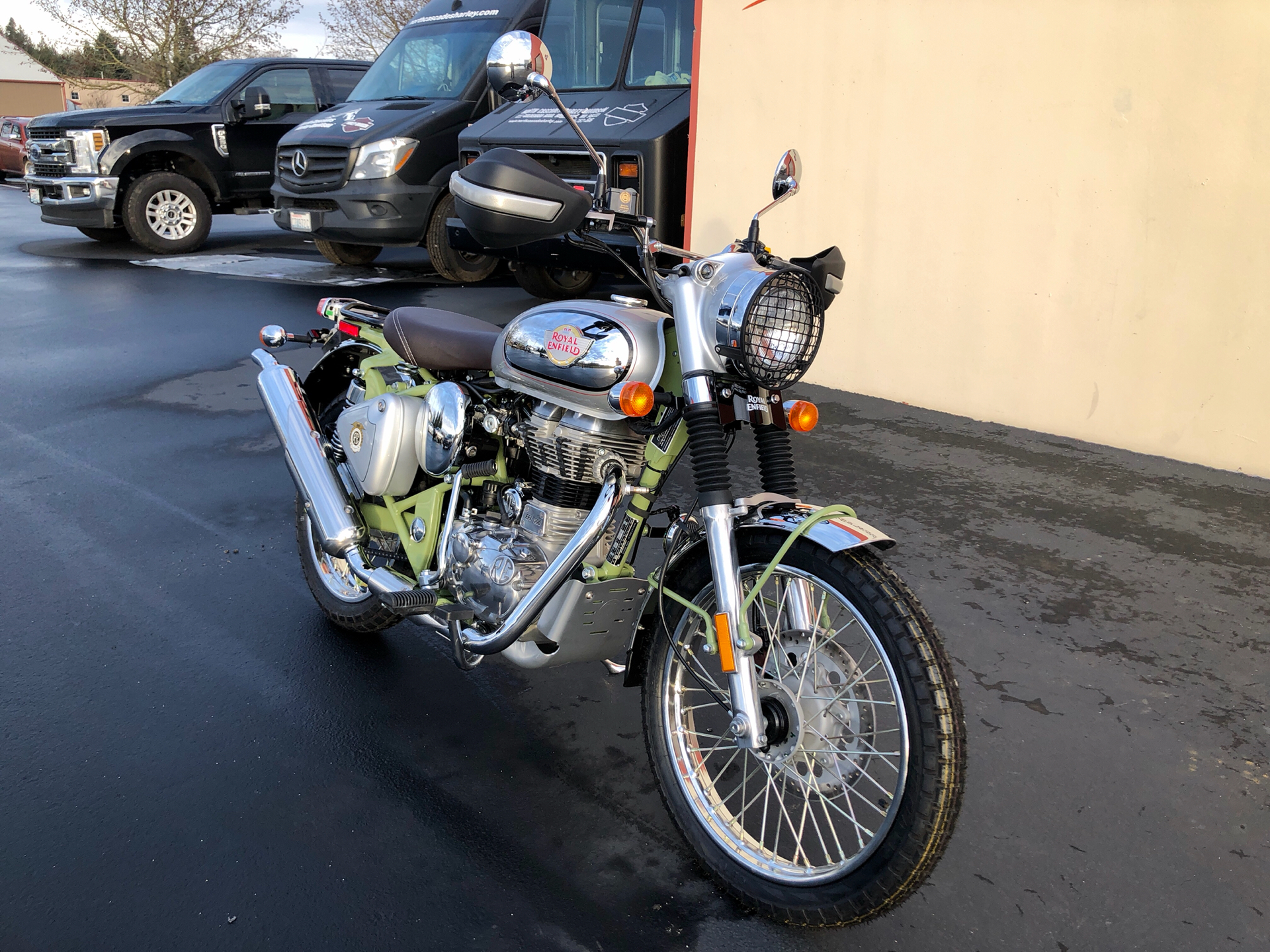 2020 Royal Enfield Bullet Trials Works Replica 500 Limited Edition in Burlington, Washington - Photo 4