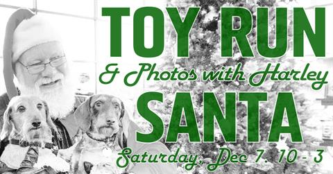 Toys Run & Photos With Harley Santa