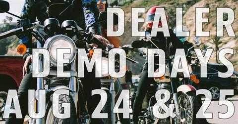 Royal Enfield Dealer Demo Days