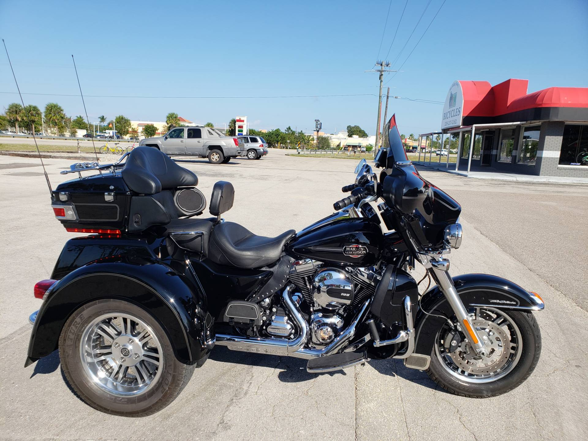 Used 2013 Harley Davidson Tri Glide Ultra Classic Trikes In Fort