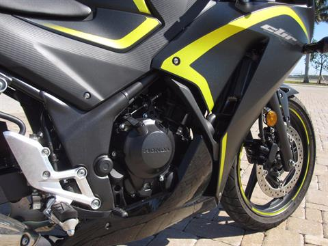 2015 Honda CBR®300R ABS in Fort Myers, Florida