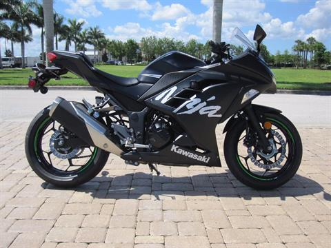 2017 Kawasaki Ninja 300 ABS Winter Test Edition in Fort Myers, Florida