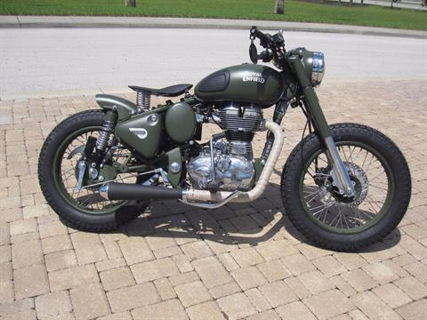 2017 Royal Enfield Classic Battle Green in Fort Myers, Florida