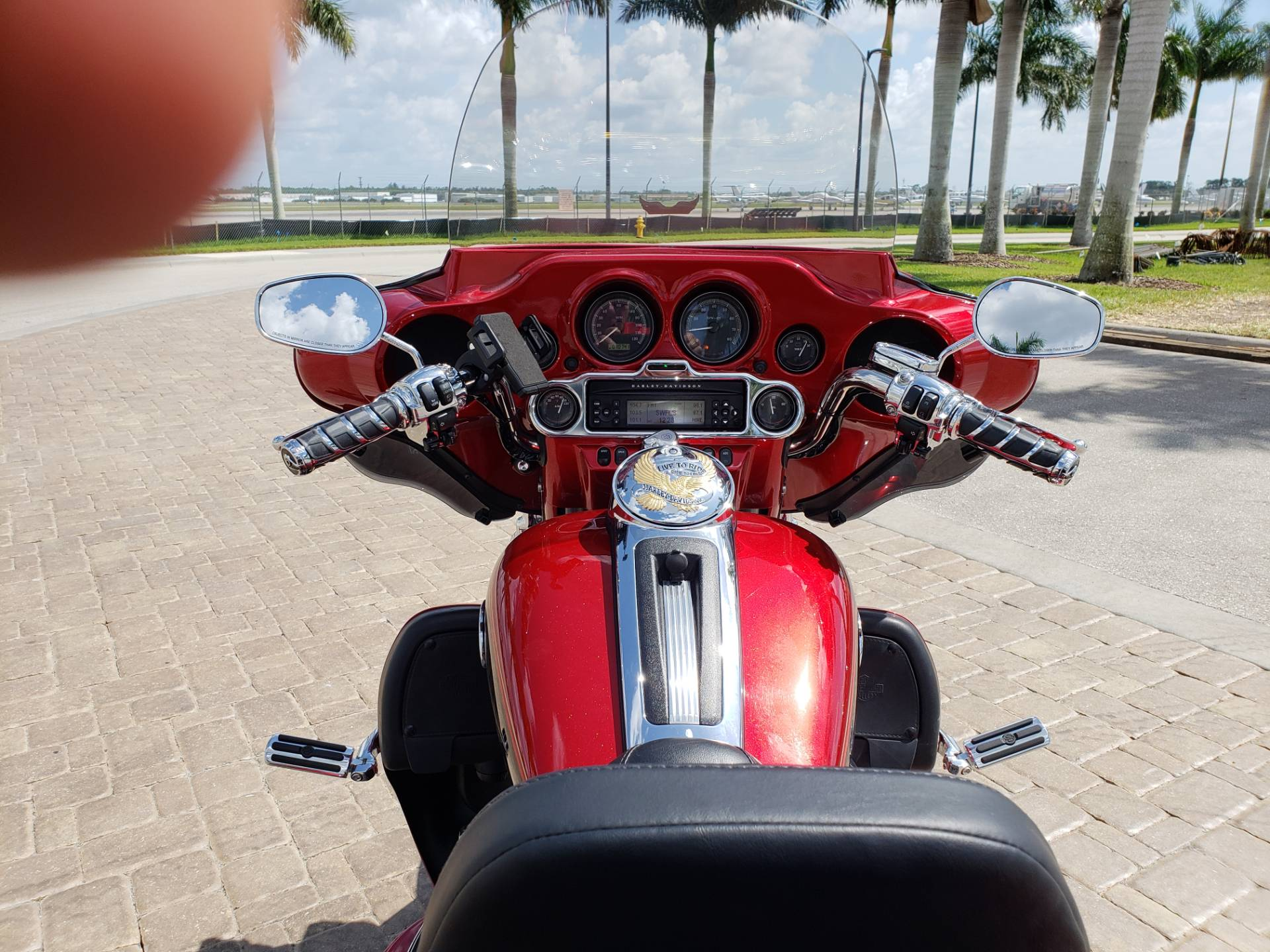 Used 2012 Harley Davidson Ultra Classic Trikes In Fort Myers Fl Red Florida