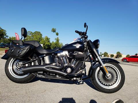 2011 Harley-Davidson Softail® Fat Boy® Lo in Fort Myers, Florida