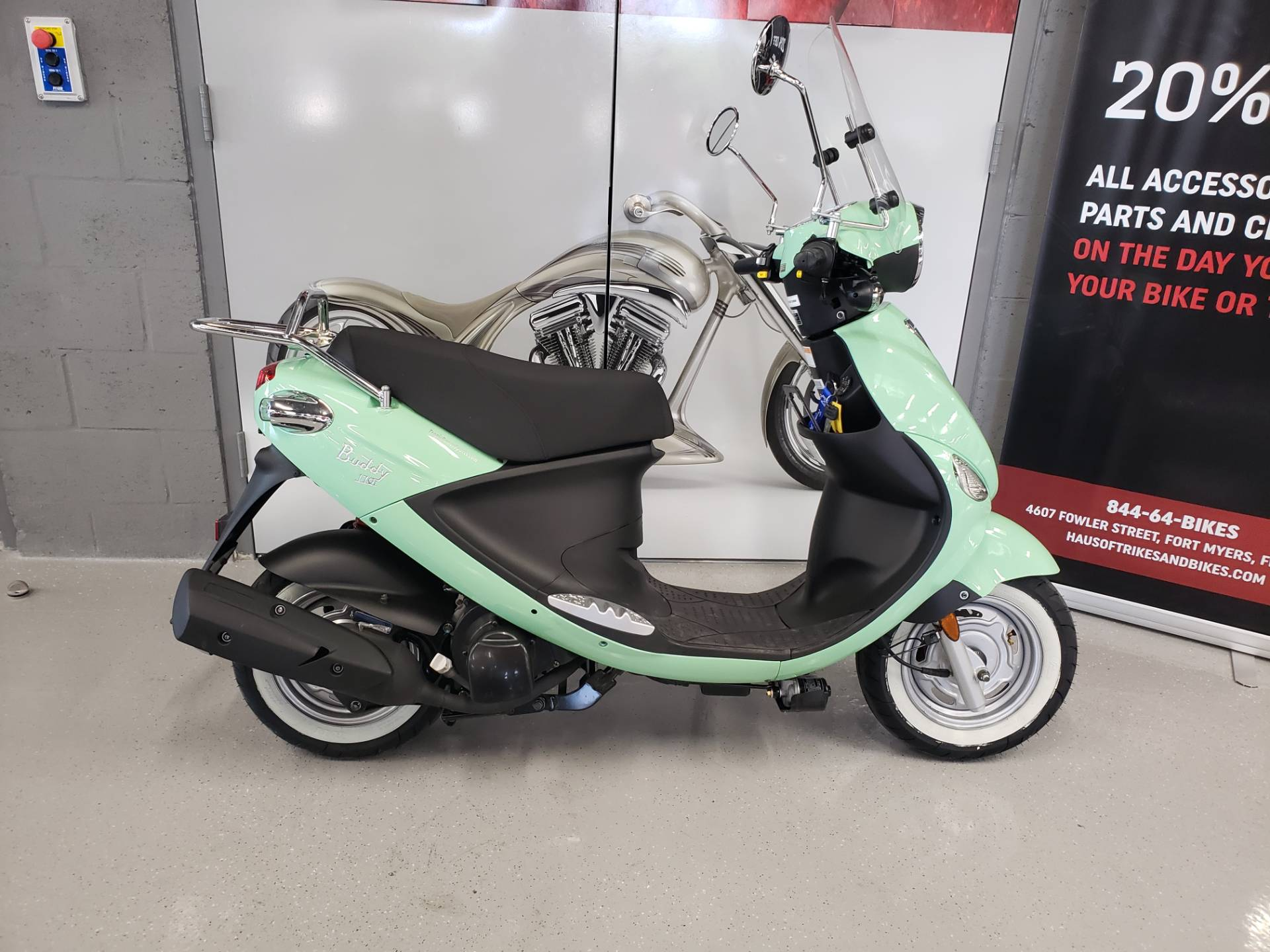 2017 Genuine Scooters Buddy 170 in Fort Myers, Florida