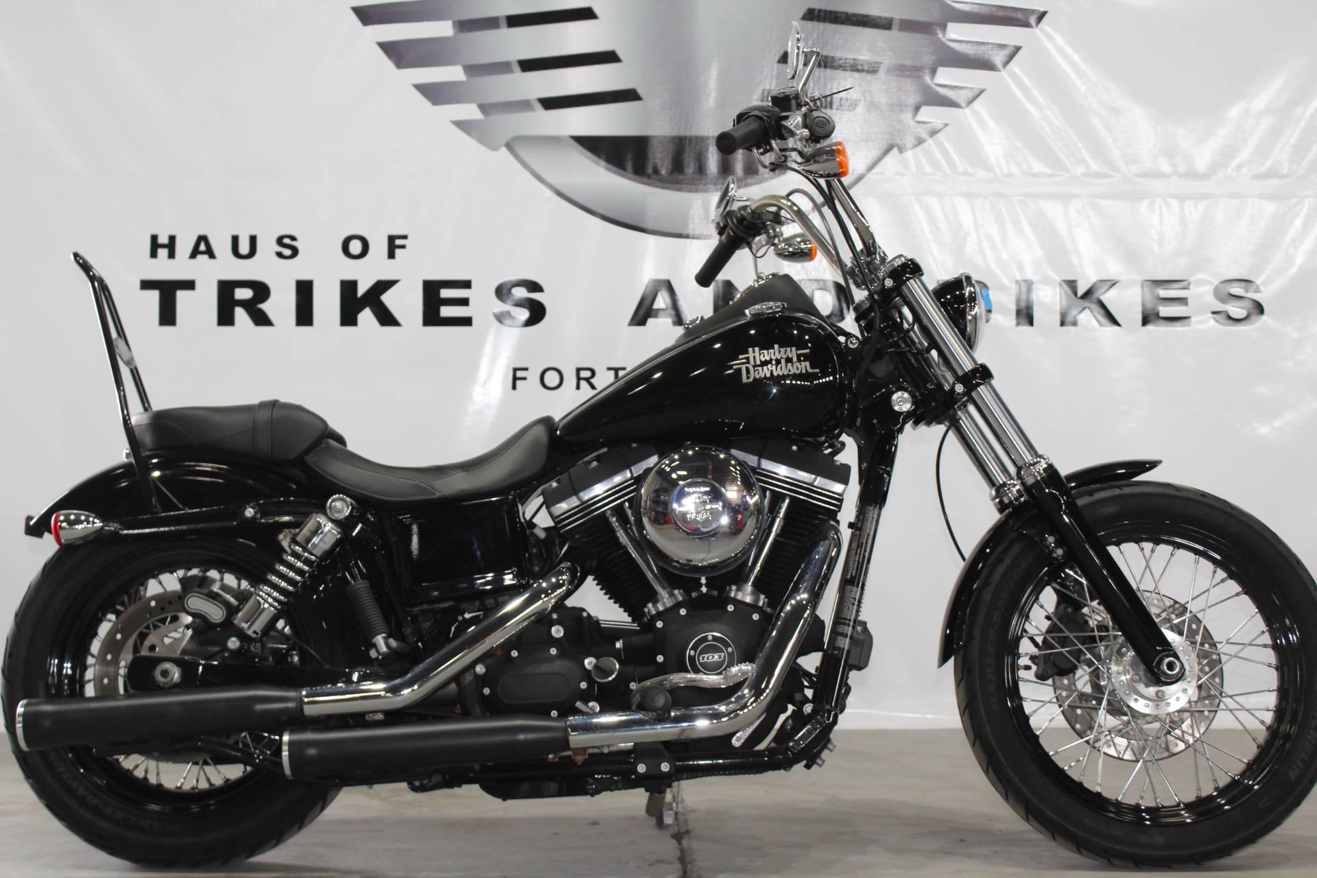 Used 2015 Harley Davidson Street Bob Motorcycles in Fort Myers FL