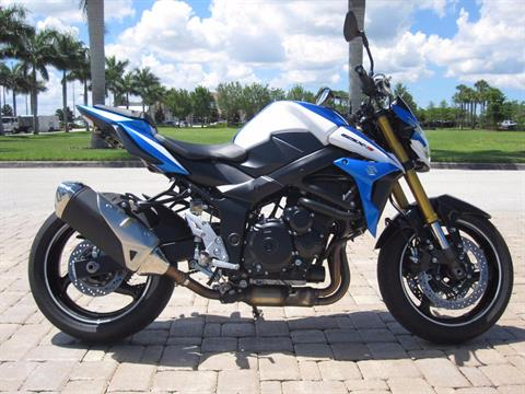 2015 Suzuki GSX-S750Z in Fort Myers, Florida