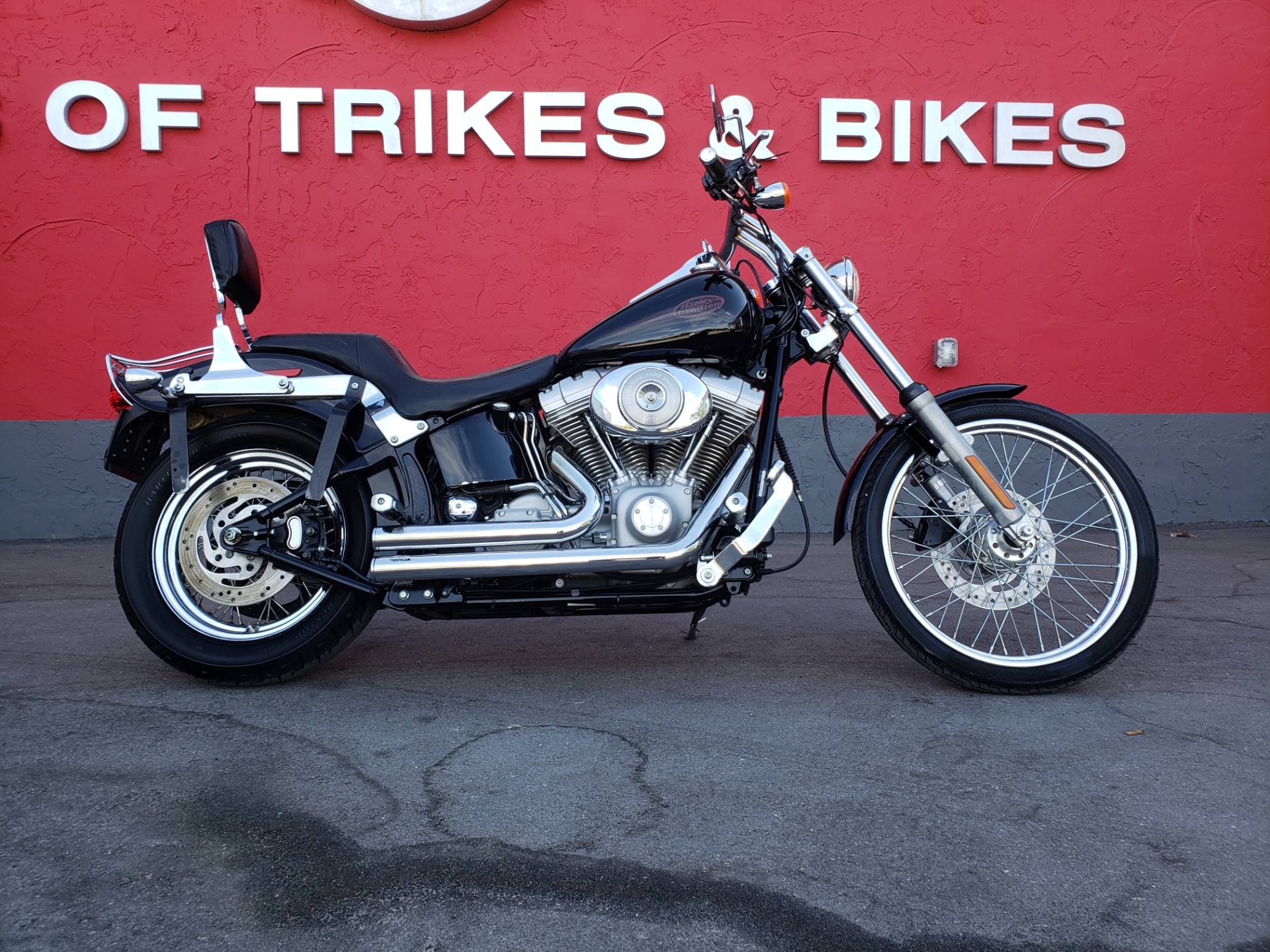 Used 2004 Harley Davidson Fxst Fxsti Softail Standard Motorcycles