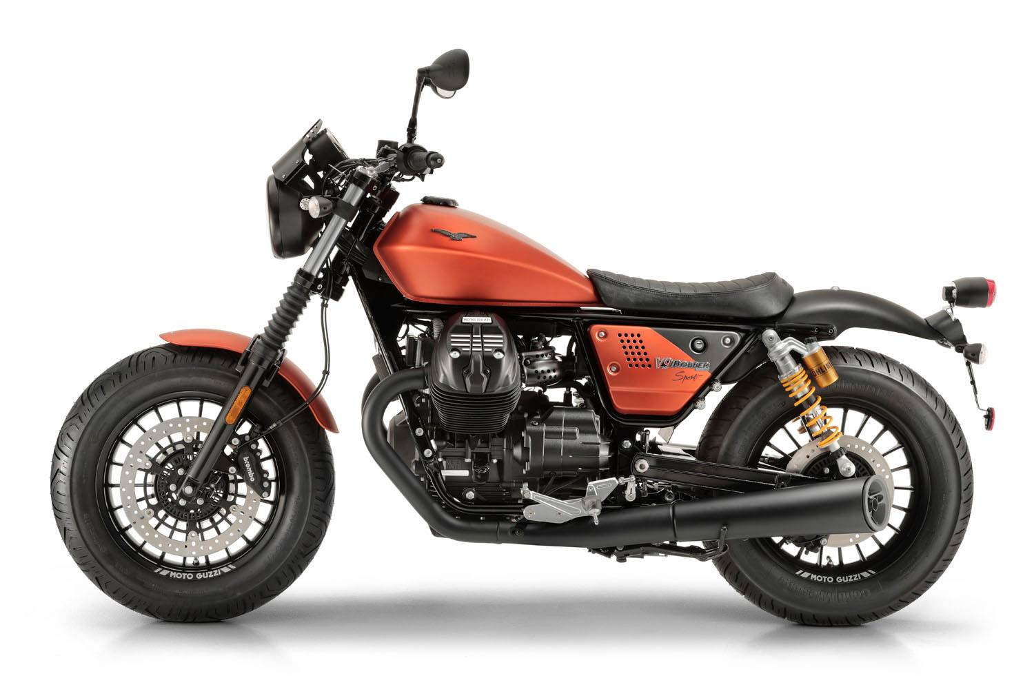 2020 Moto Guzzi V9 Bobber in Fort Myers, Florida - Photo 4