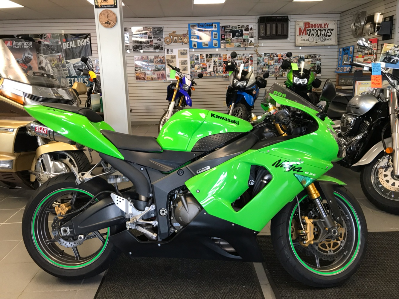 2006 Kawasaki Ninja® ZX-6R in Trevose, Pennsylvania - Photo 1