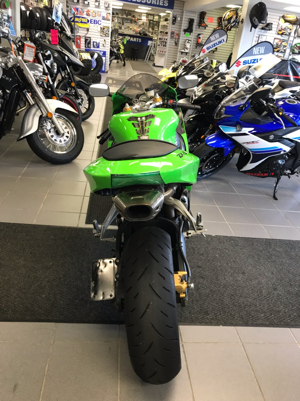 2006 Kawasaki Ninja® ZX-6R in Trevose, Pennsylvania - Photo 4