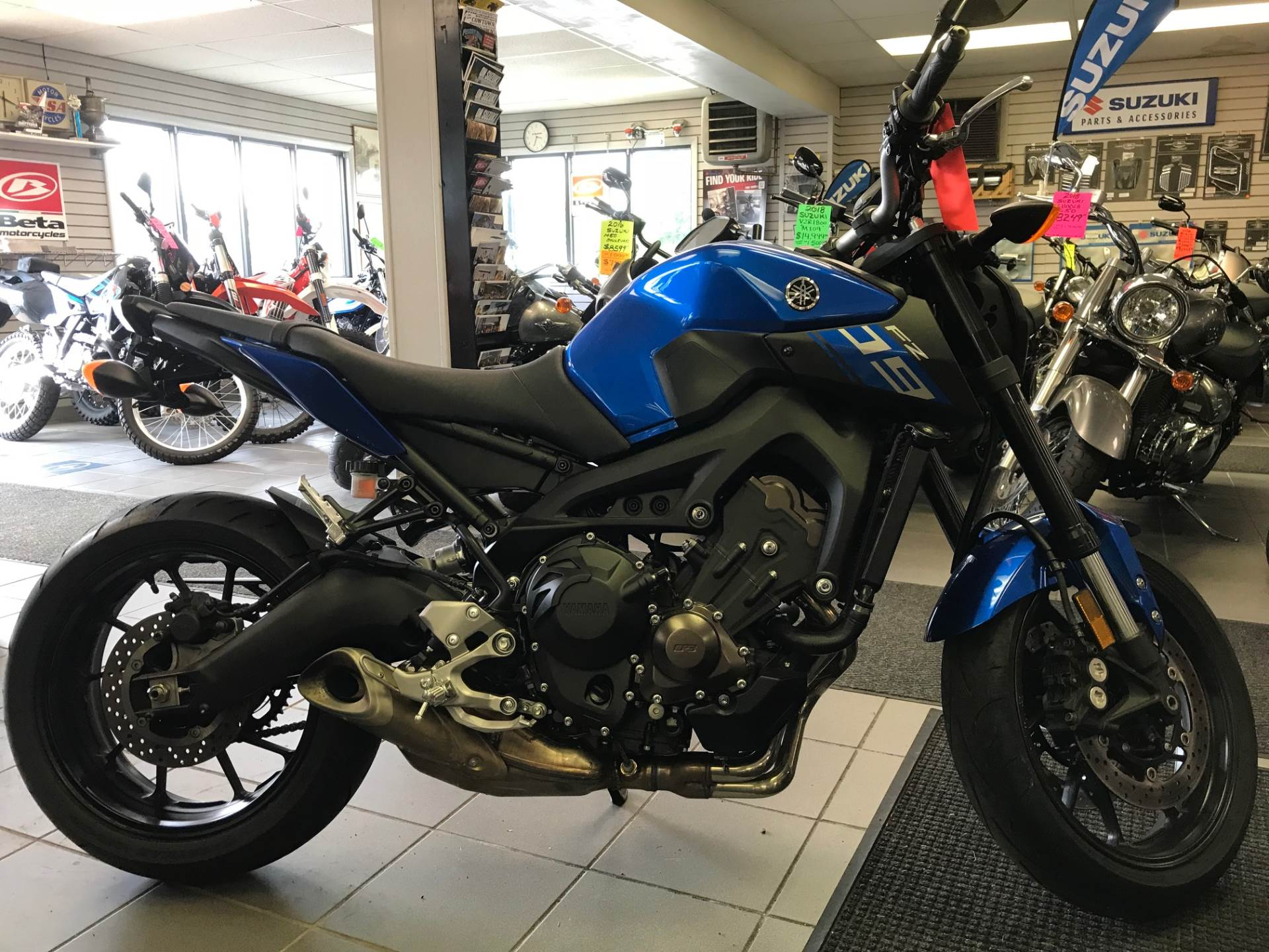 2016 Yamaha Fz 09 In Trevose Pennsylvania
