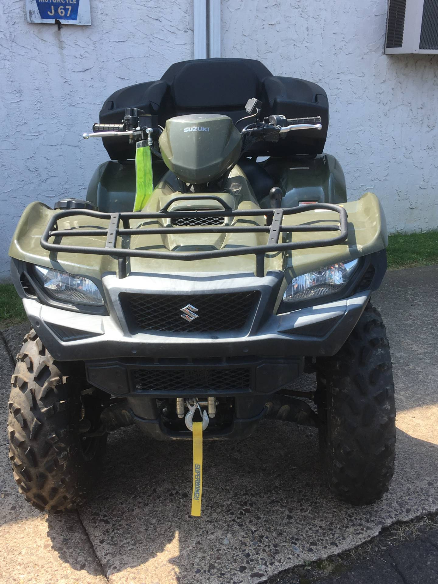 2016 Suzuki KingQuad 750AXi in Trevose, Pennsylvania - Photo 1