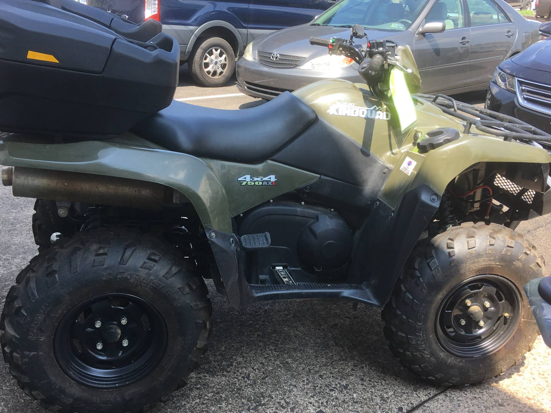 2016 Suzuki KingQuad 750AXi in Trevose, Pennsylvania - Photo 3