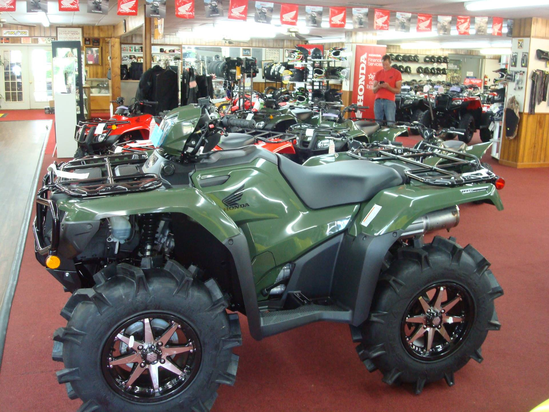 2019 Honda FourTrax Foreman Rubicon 4x4 EPS in Lagrange, Georgia - Photo 1