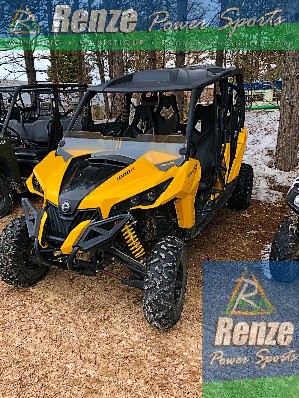 2015 Can-Am Maverick Max X rs DPS 1000R for sale 107017
