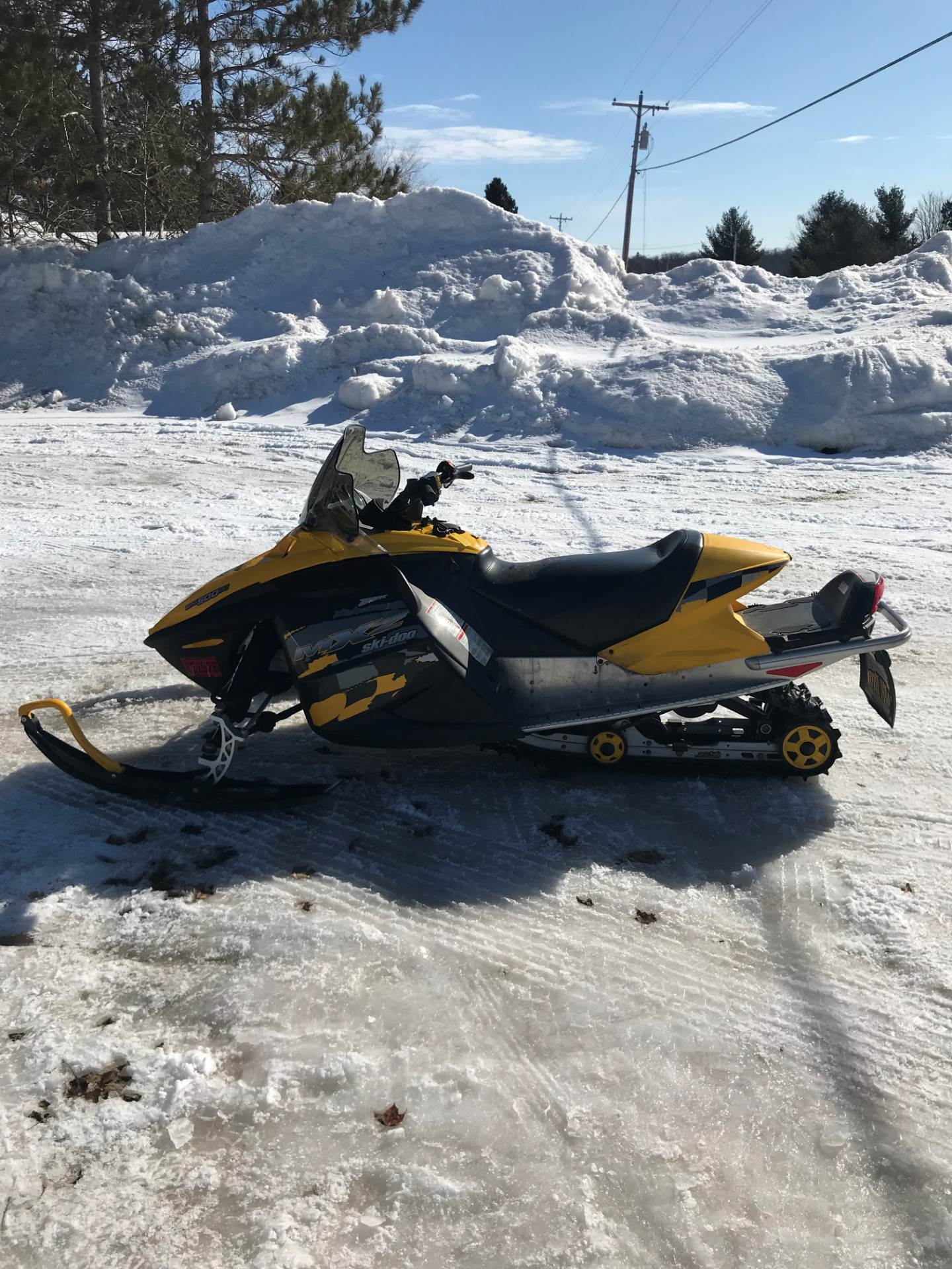 2006 Ski-Doo MX Z Trail 500SS RER for sale 15310