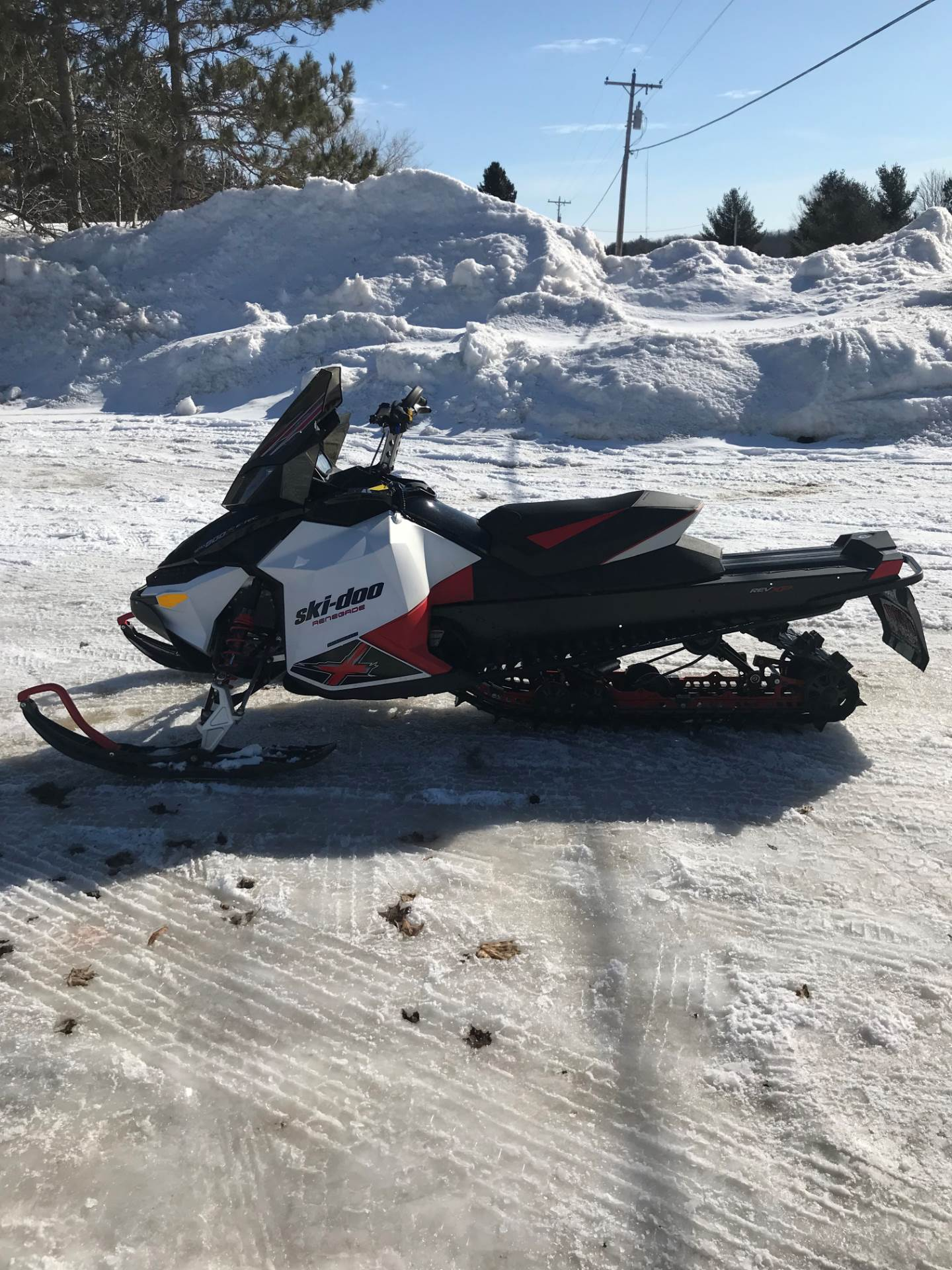 2011 Ski-Doo Renegade Backcountry X E-TEC 800R for sale 10122