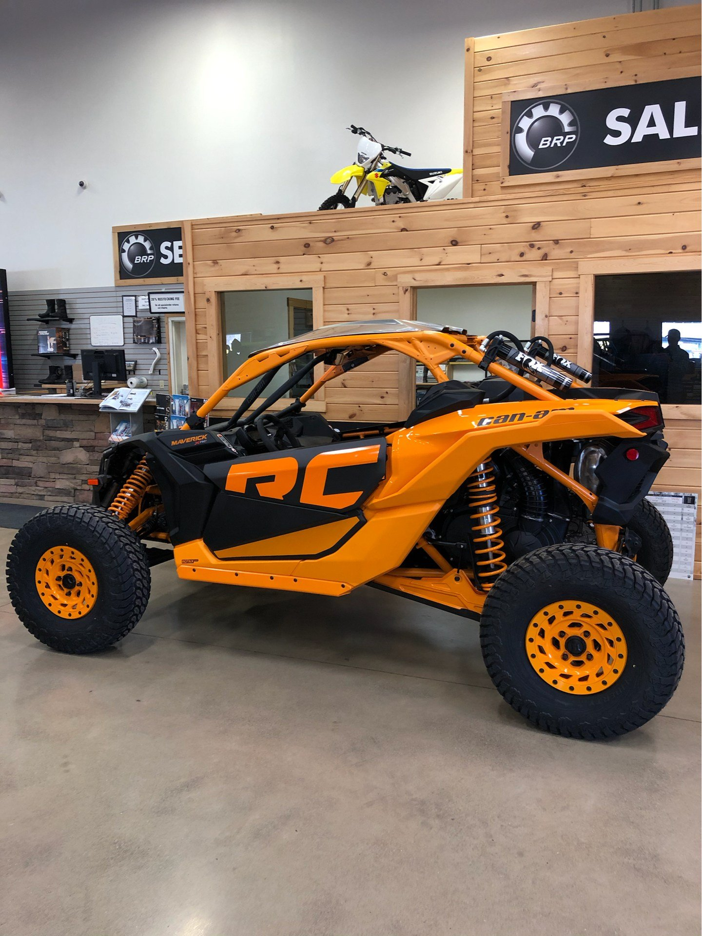 2020 Can-Am Maverick X3 X RC Turbo RR in Montrose, Pennsylvania - Photo 4