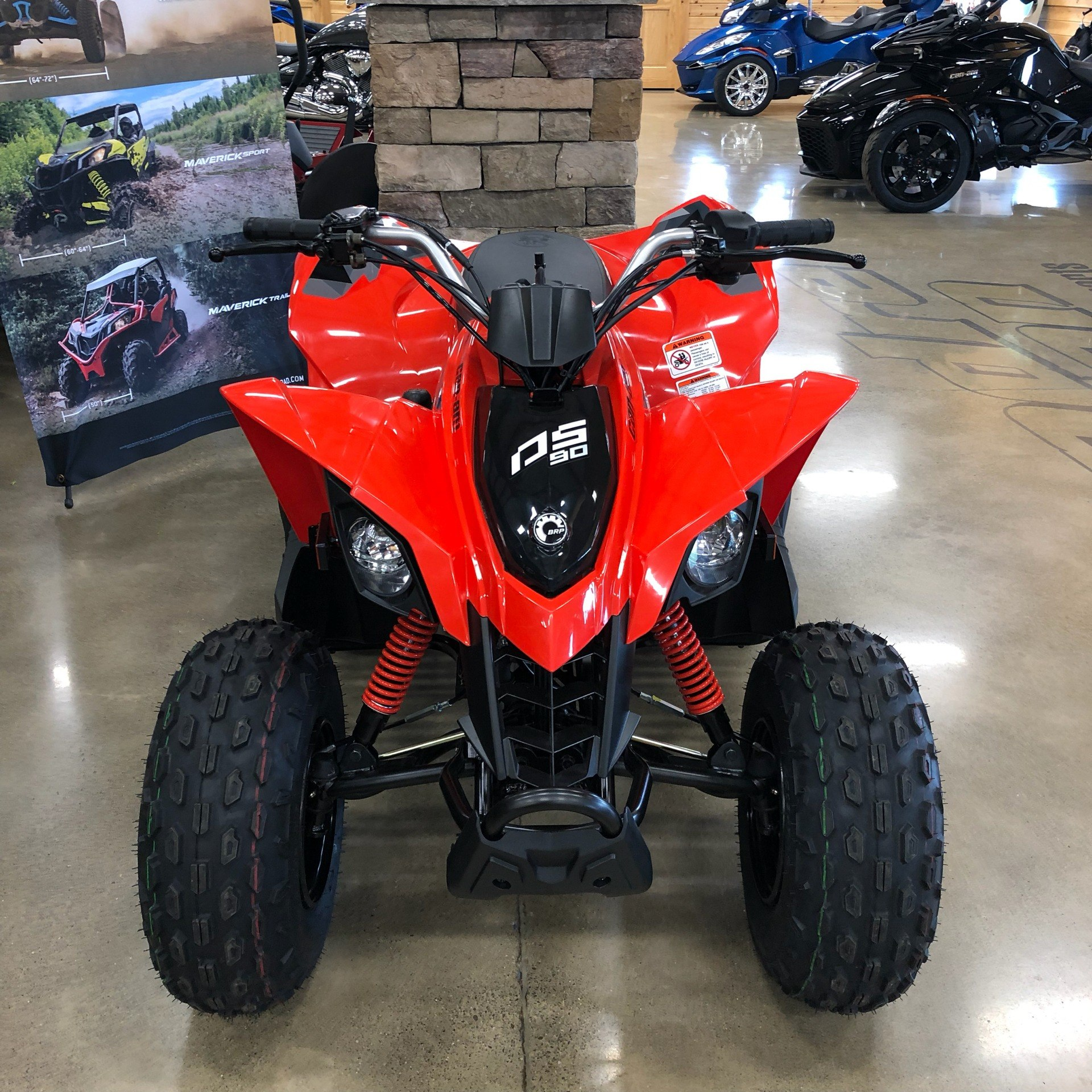 2020 Can-Am DS 90 in Montrose, Pennsylvania - Photo 1