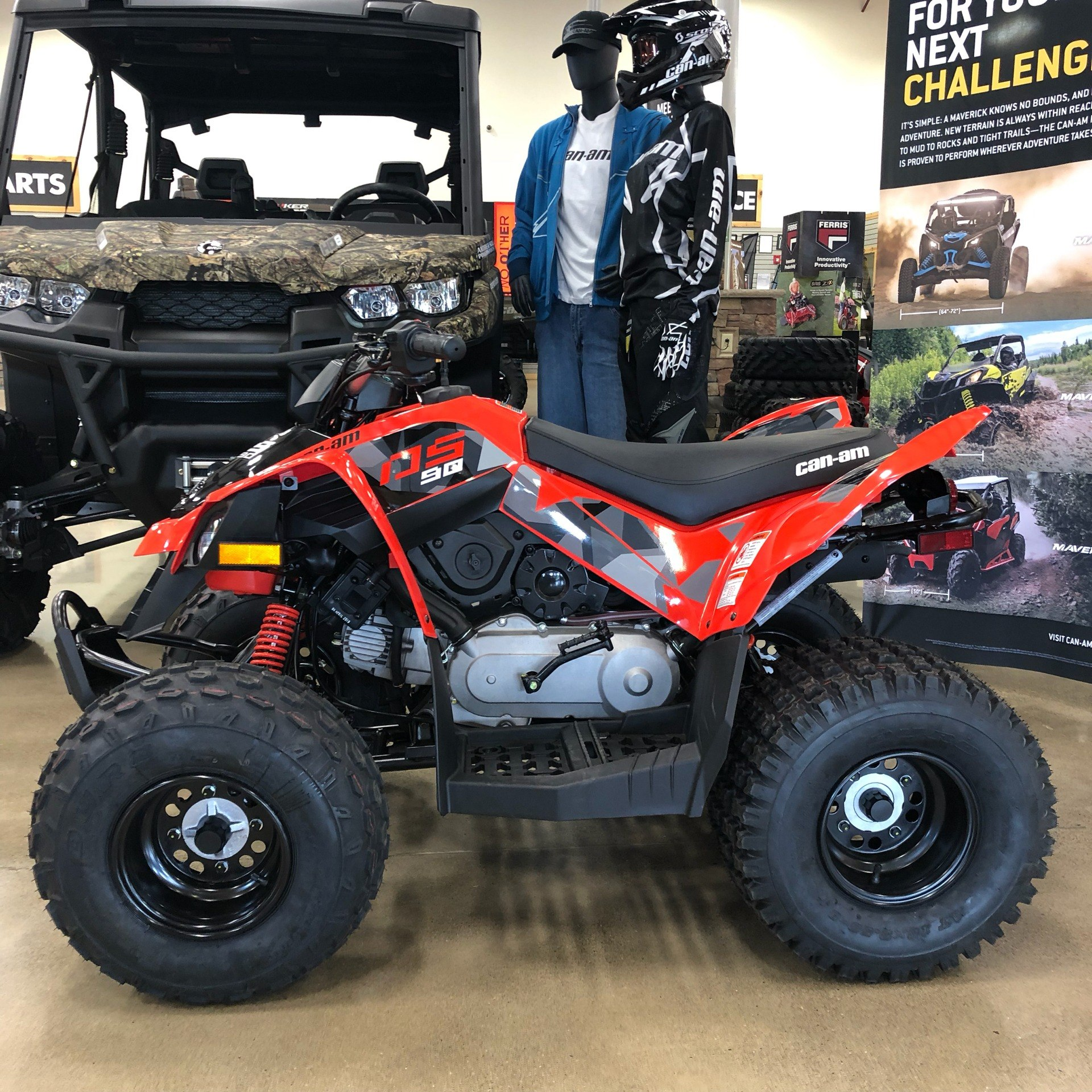 2020 Can-Am DS 90 in Montrose, Pennsylvania - Photo 2