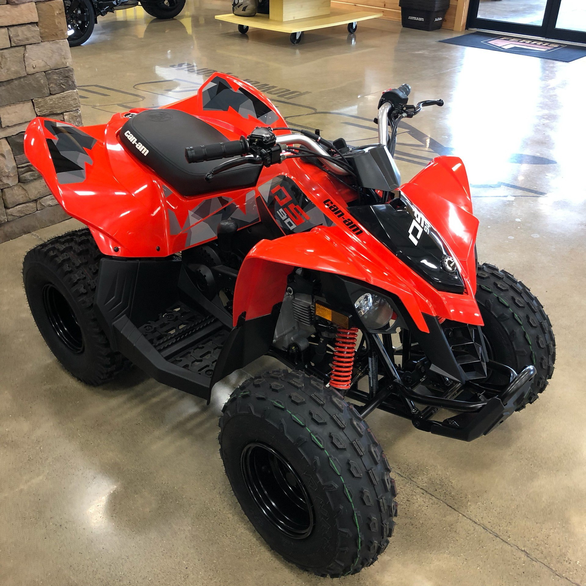 2020 Can-Am DS 90 in Montrose, Pennsylvania - Photo 4