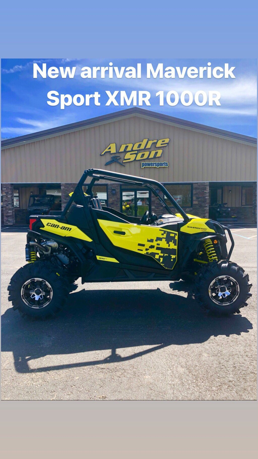 2019 Can-Am Maverick Sport X MR 1000R in Montrose, Pennsylvania - Photo 1