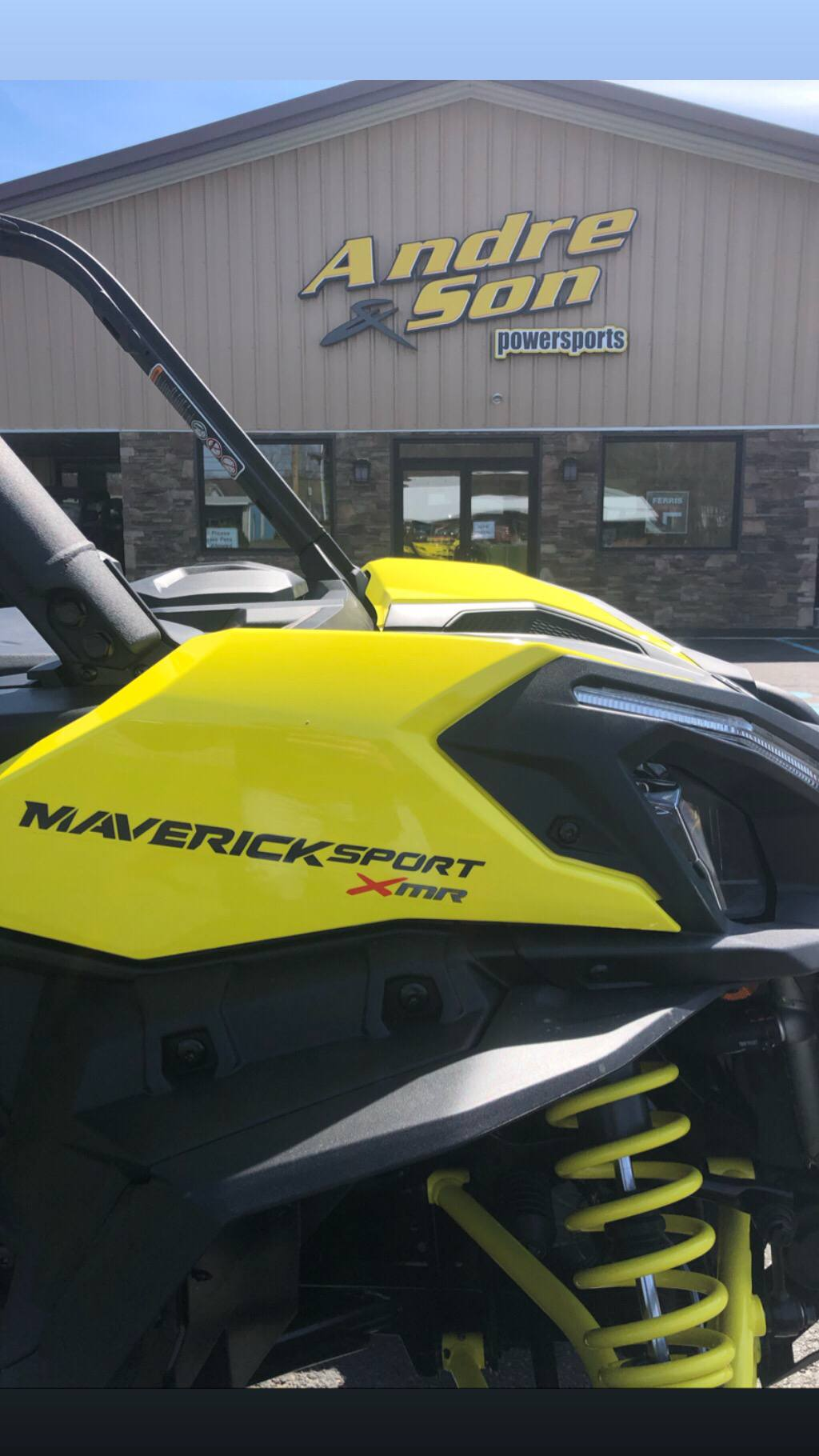 2019 Can-Am Maverick Sport X MR 1000R in Montrose, Pennsylvania - Photo 8