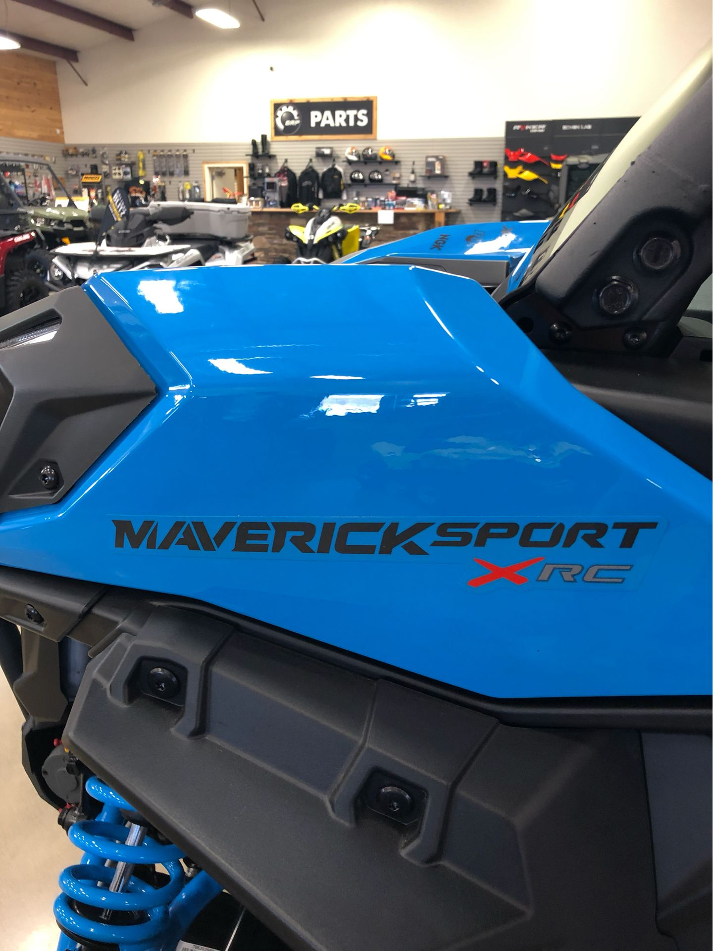 2019 Can-Am Maverick Sport X RC 1000R in Montrose, Pennsylvania - Photo 12