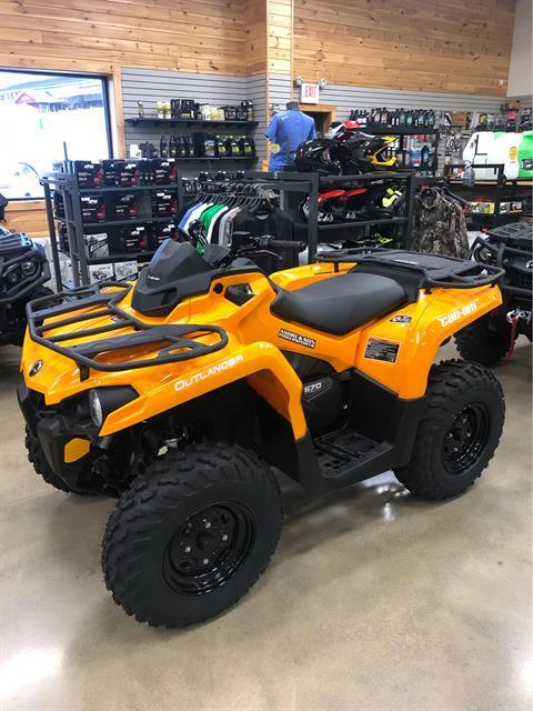 2020 Can-Am Outlander DPS 570 in Montrose, Pennsylvania - Photo 3