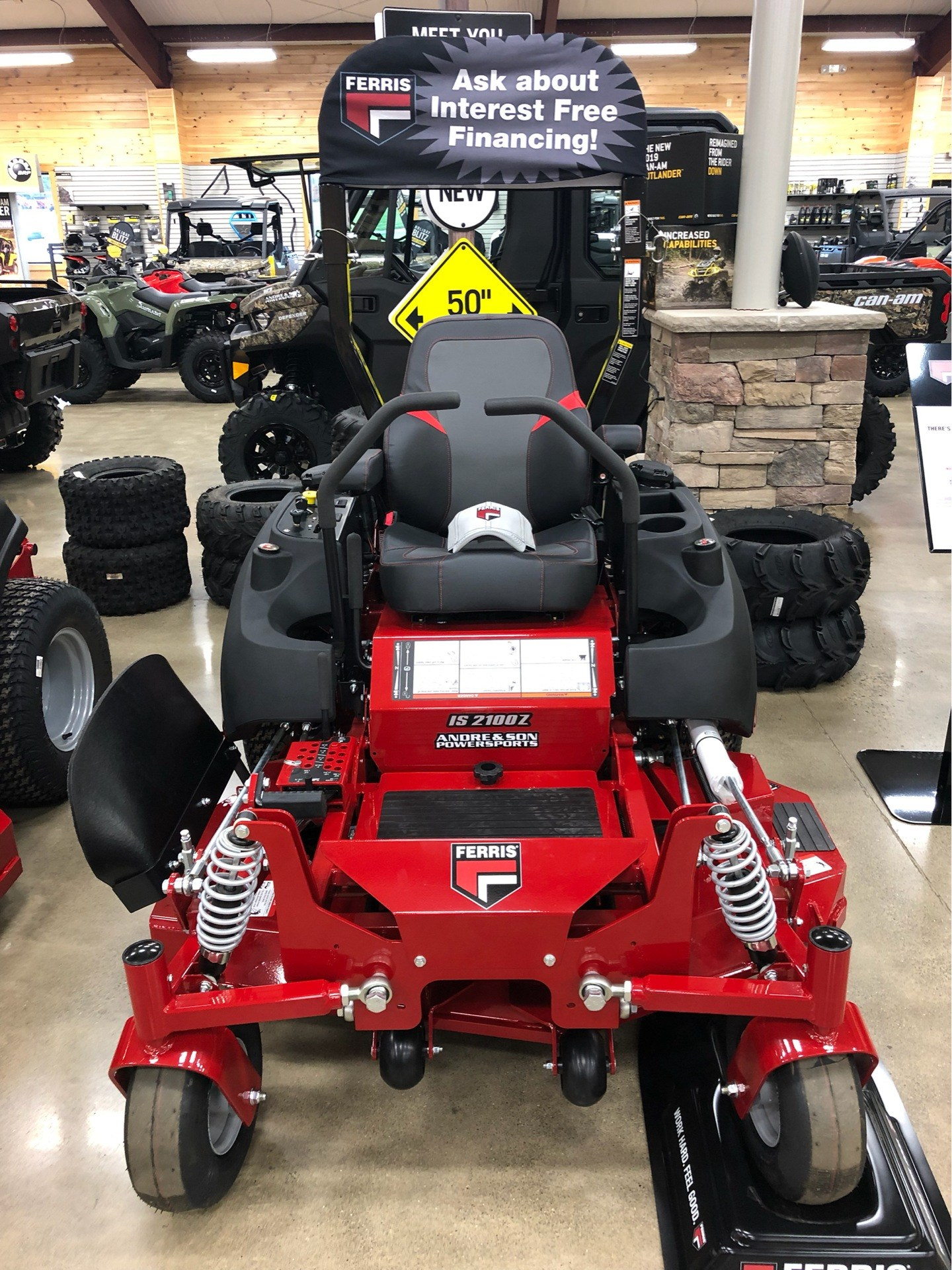2019 Ferris Industries IS 2100Z 52 in. Vanguard 26 hp in Montrose, Pennsylvania - Photo 1