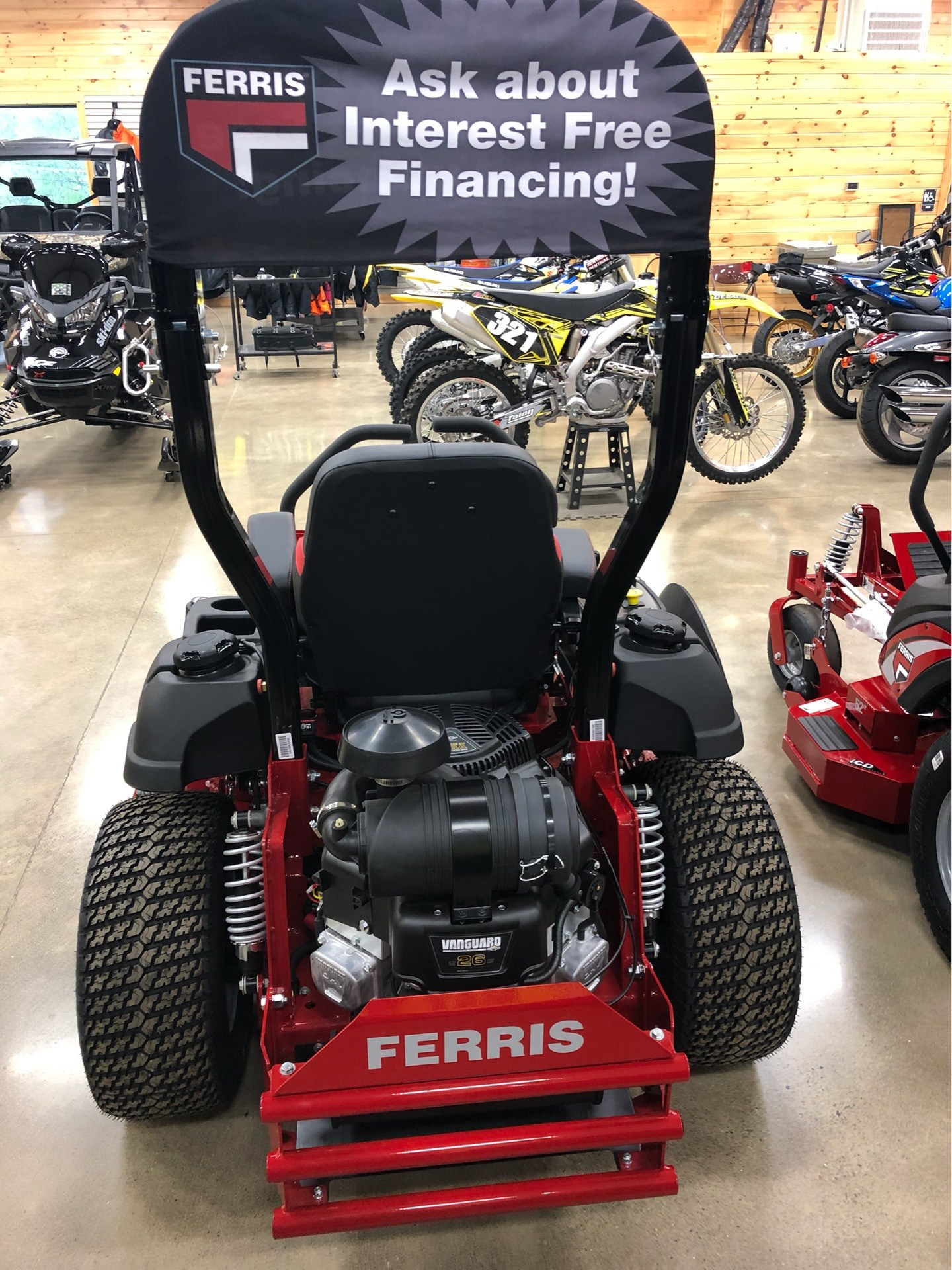 2019 Ferris Industries IS 2100Z 52 in. Vanguard 26 hp in Montrose, Pennsylvania - Photo 4