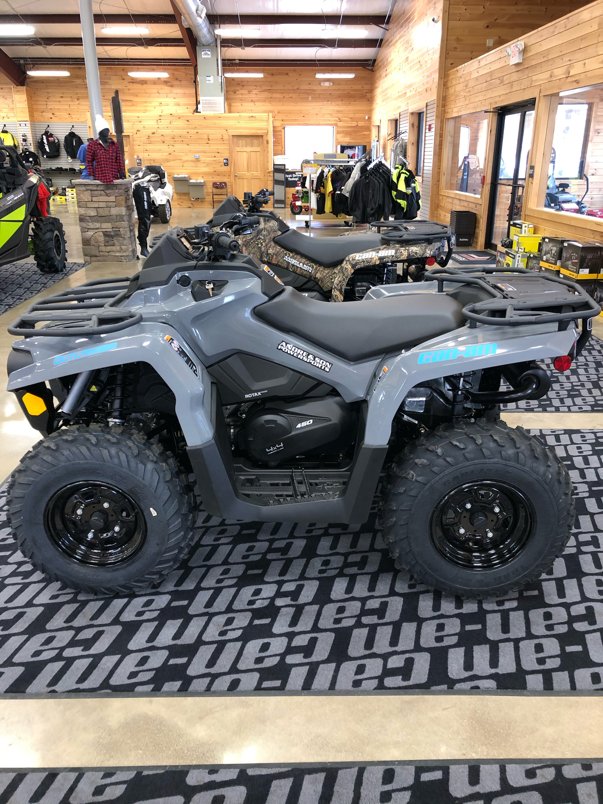 2021 Can-Am Outlander DPS 450 in Montrose, Pennsylvania - Photo 2