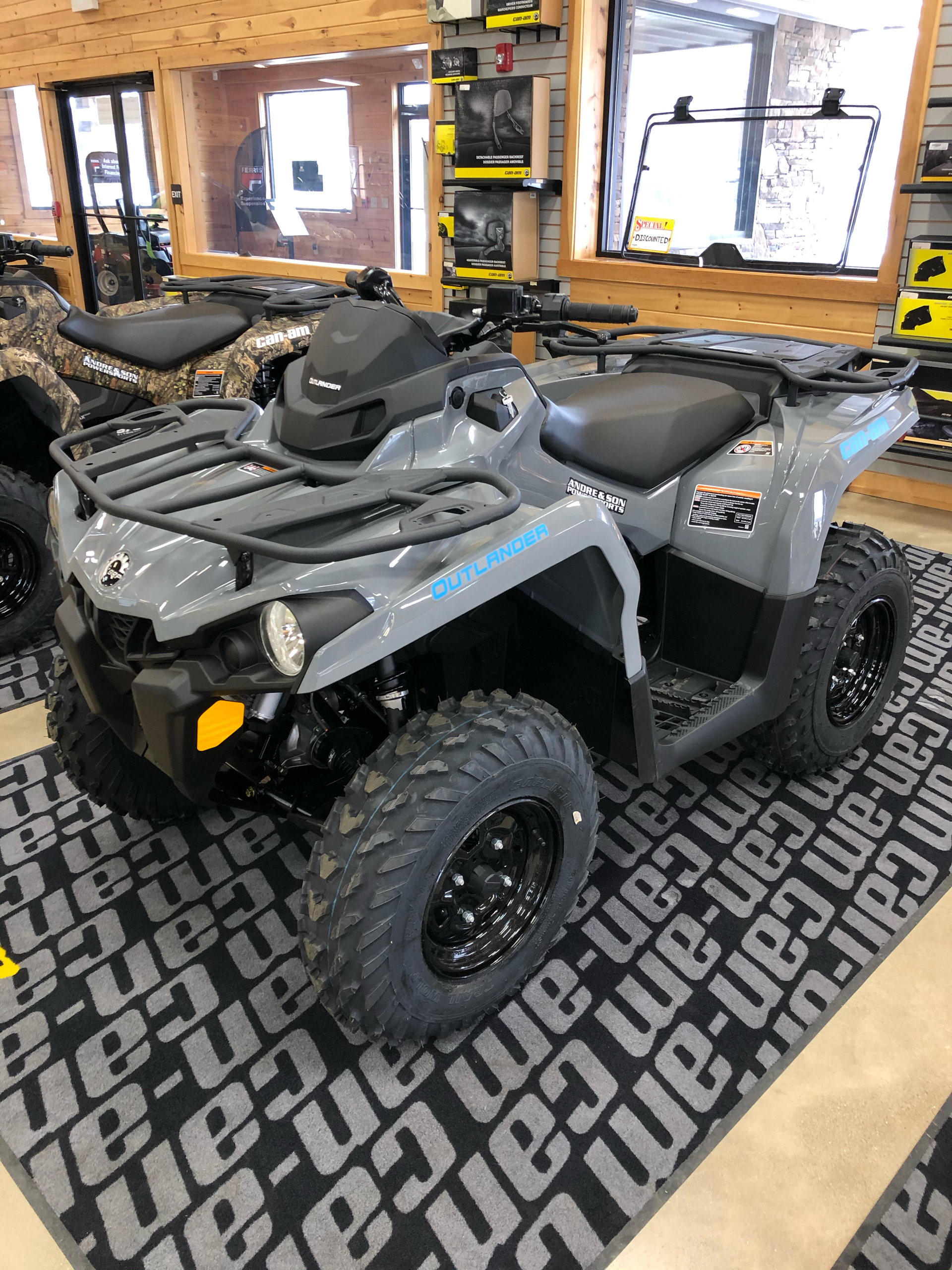 2021 Can-Am Outlander DPS 450 in Montrose, Pennsylvania - Photo 6