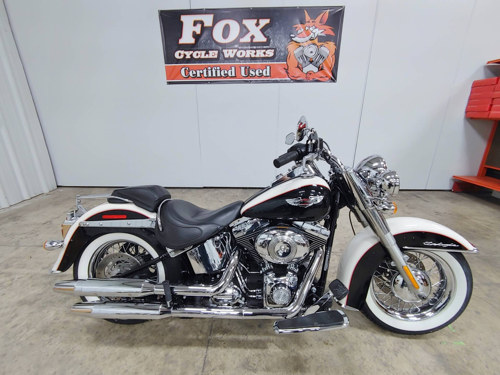 2011 Harley-Davidson Softail® Deluxe in Sandusky, Ohio - Photo 1