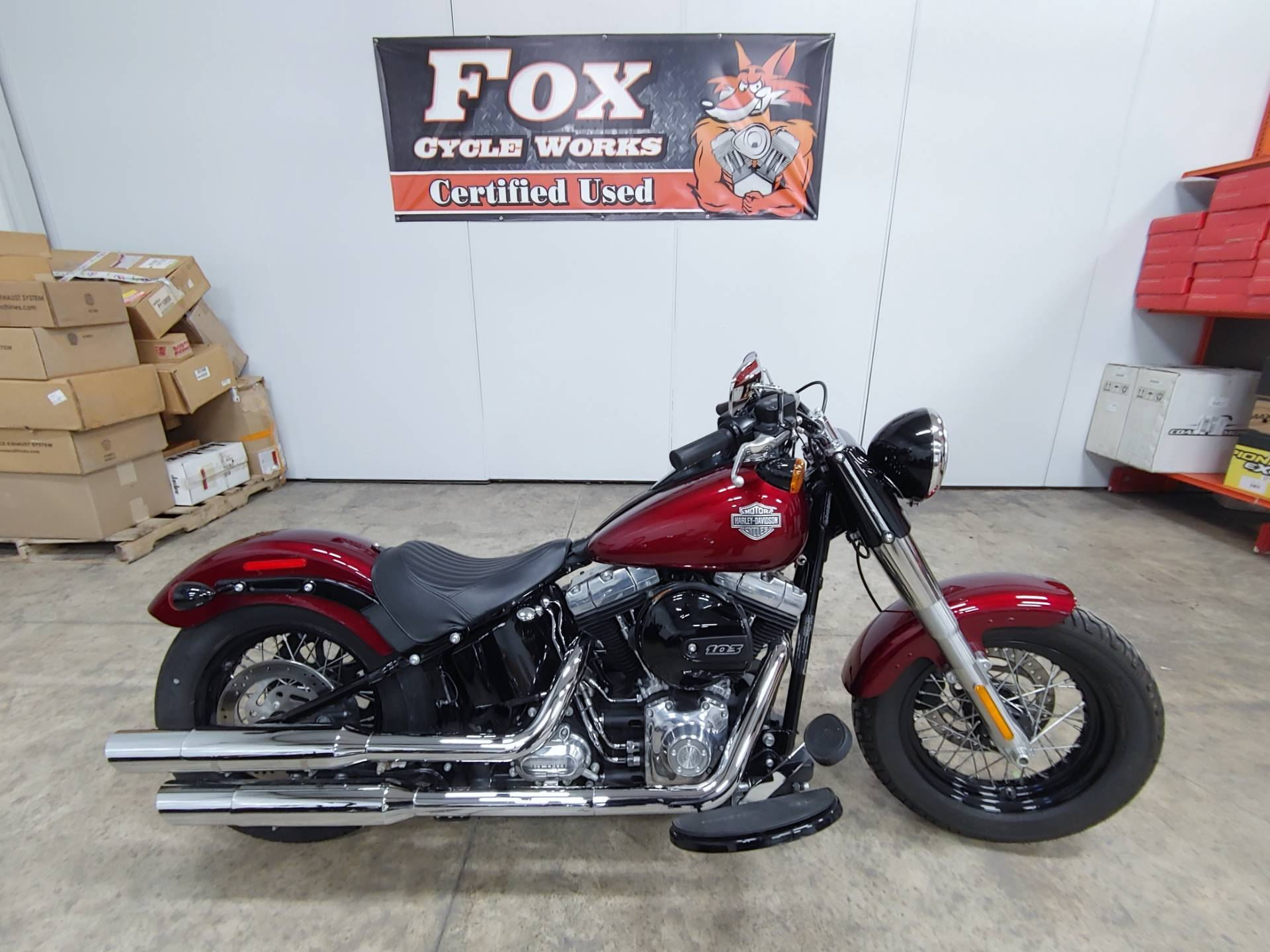 2016 Harley-Davidson Softail Slim® in Sandusky, Ohio - Photo 1