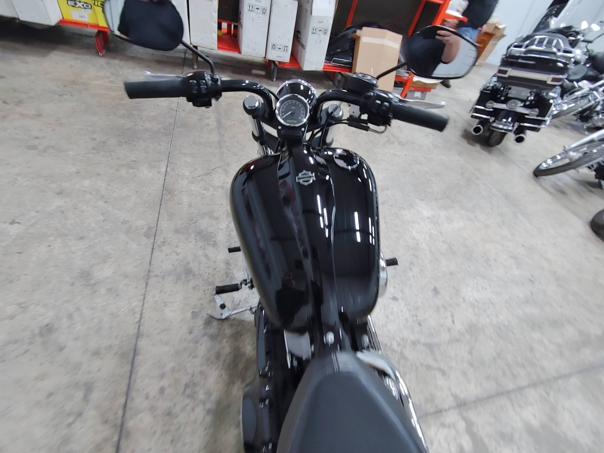 2012 Harley-Davidson Softail® Blackline® in Sandusky, Ohio - Photo 13