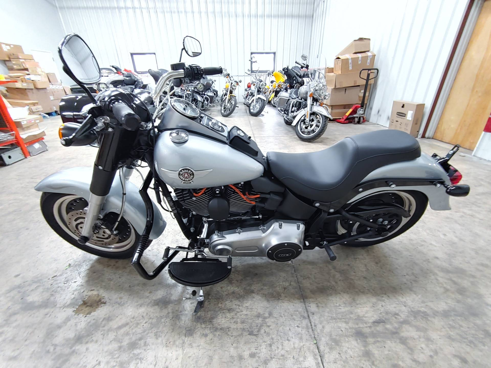 2012 Harley-Davidson Softail® Fat Boy® Lo in Sandusky, Ohio - Photo 6
