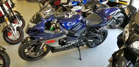 2005 Suzuki GSX-R750 in Mechanicsburg, Pennsylvania