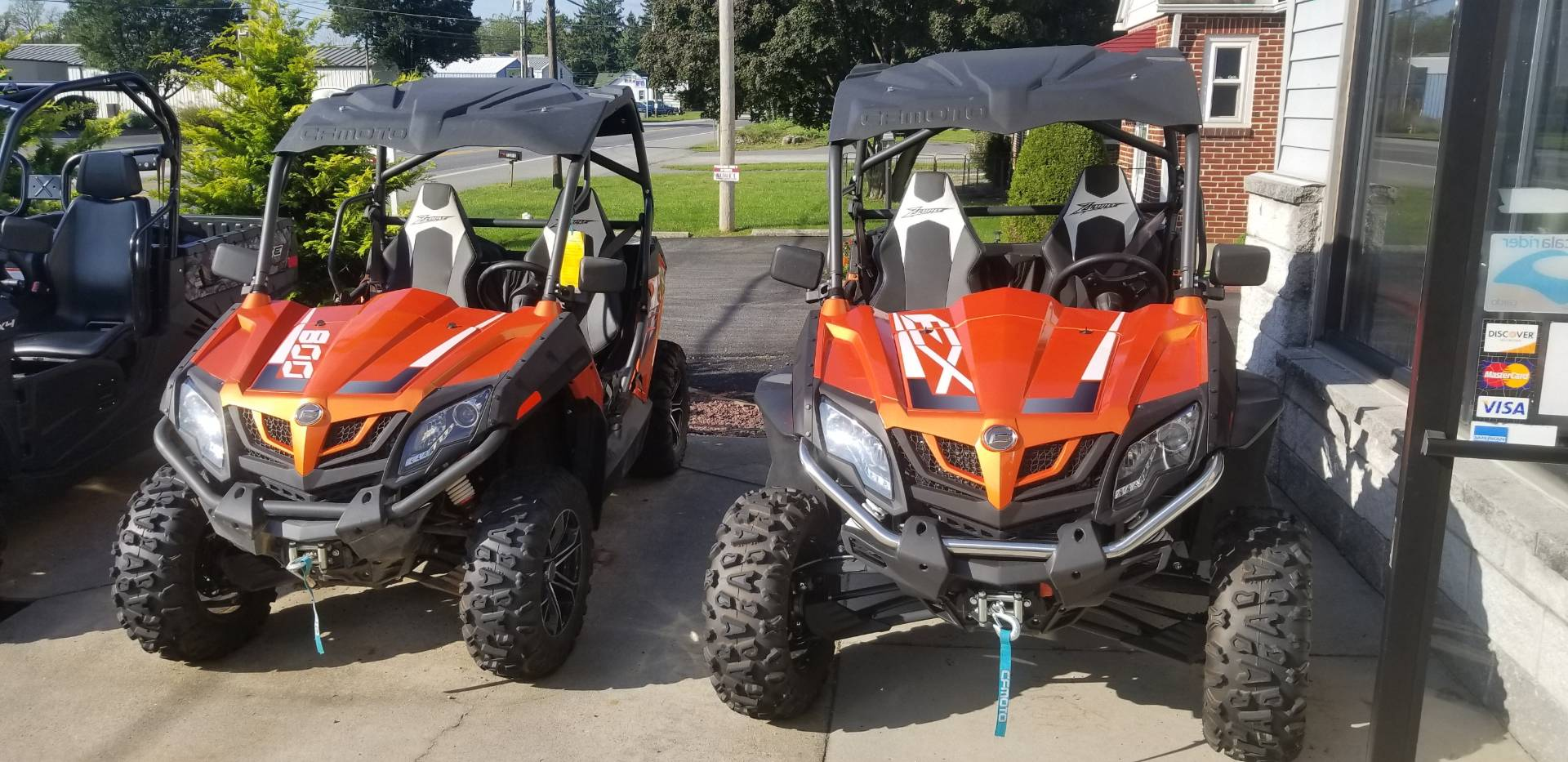 2017 CFMOTO ZForce 800 EX EPS in Mechanicsburg, Pennsylvania