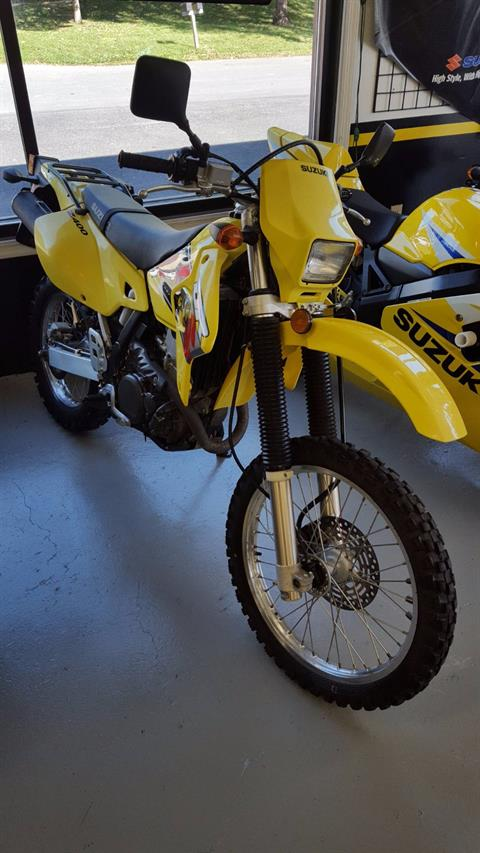 2001 Suzuki DR-Z400S in Mechanicsburg, Pennsylvania