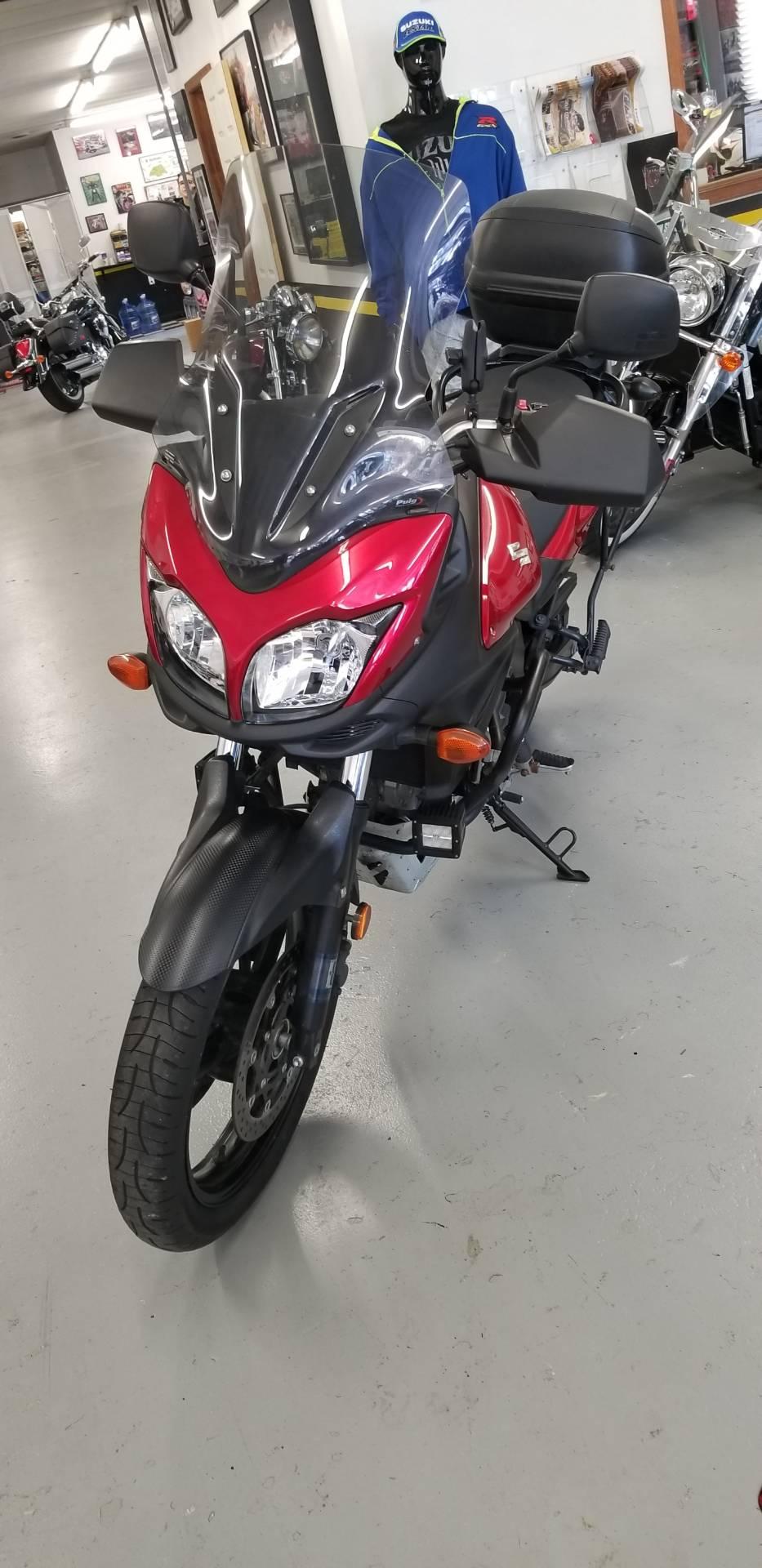 2014 Suzuki V-Strom 650 ABS 1
