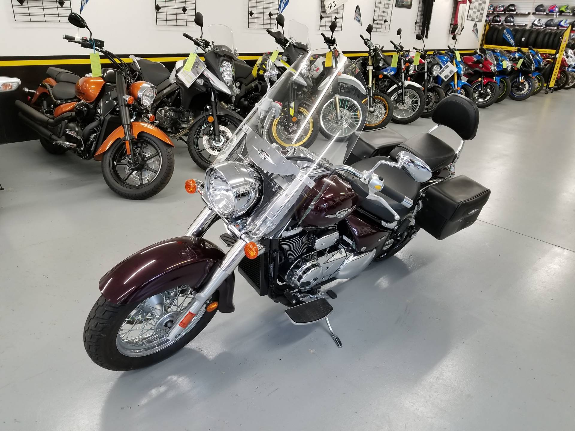 2009 Suzuki Boulevard C50 in Mechanicsburg, Pennsylvania