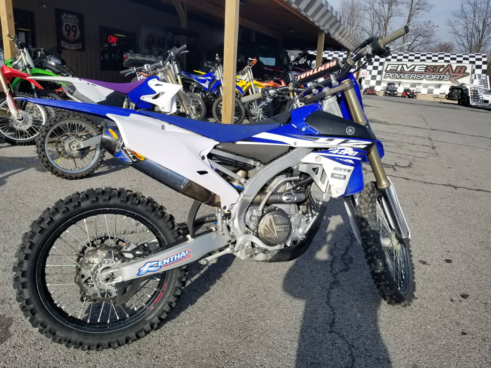 2015 Yamaha YZ450F in Duncansville, Pennsylvania
