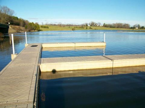 1900 ShoreMaster 4 X 10 Poly Dock in Mineral, Virginia